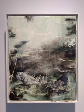 涂曦 《山河》50×40cm 布面油画 2019