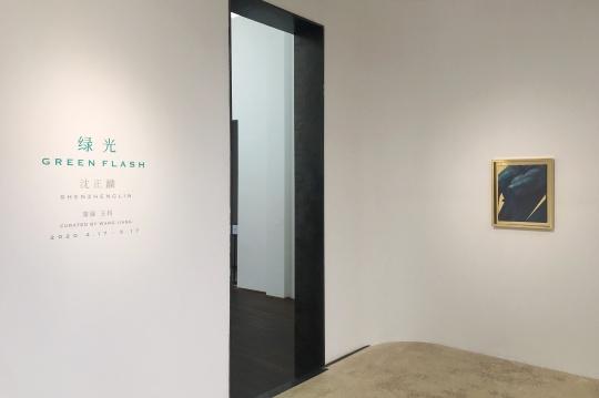 """站台中国新展 这晦暗不明的""""绿光""""到底照亮了什么?"""
