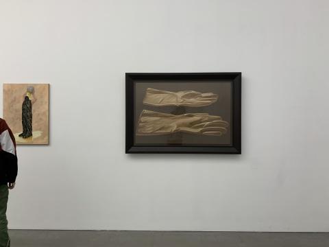 张培力《X》80x124cm布面油画 2014