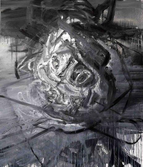 《心脏系列2》130×100cm布面油画 2008