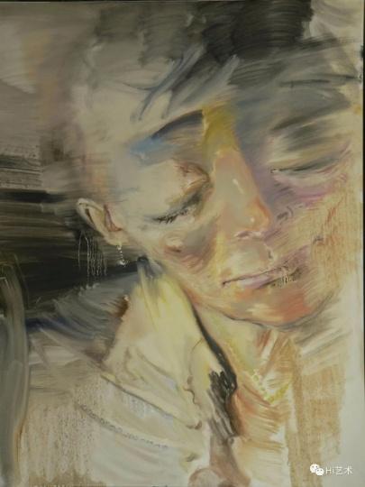 《展示系列6-女人》100×80cm布面油画 2009