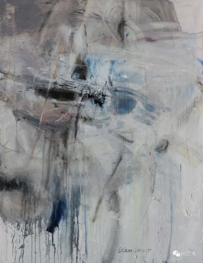 《羽寰6》140×180cm布面油画2017