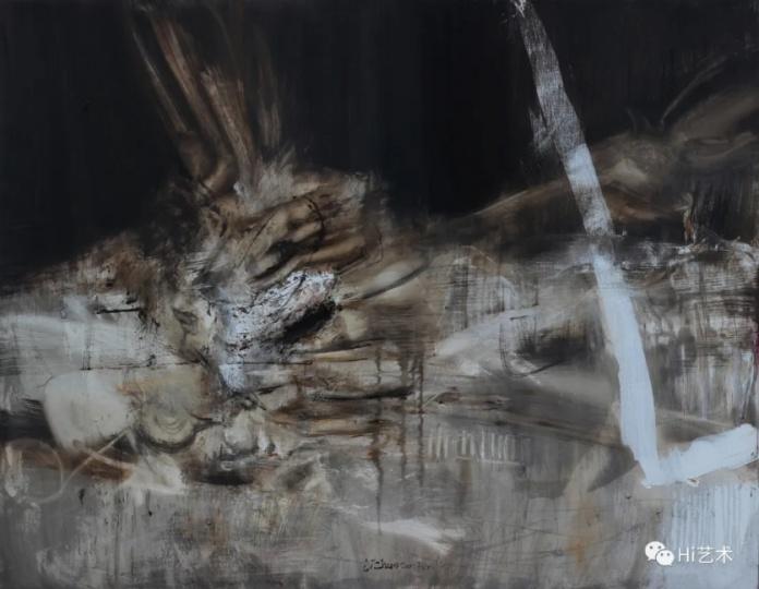 《羽寰4》140×180cm布面油画2017