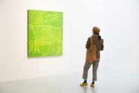 艾米李画廊孔宁个展:色彩的安慰与宣泄