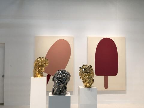 意大利博洛尼亚的P420画廊展位