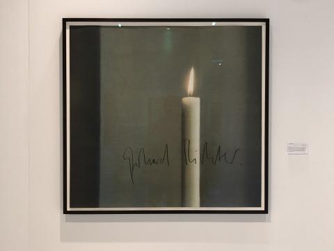 格哈德·里希特(Gerhard Richter) 《蜡烛》 1988Ludorff画廊