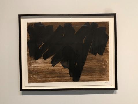 皮埃尔·苏拉热(Pierre Soulages)《Eau-forte V》 1957 ARCHEUS/POST-MODERN画廊