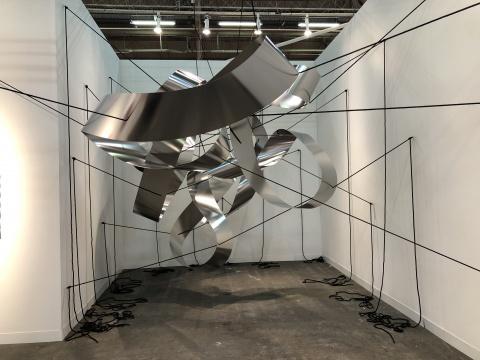 来自斯德哥尔摩的画廊带来年轻女艺术家Liva Isakson Lundin的作品《Hold Sway》