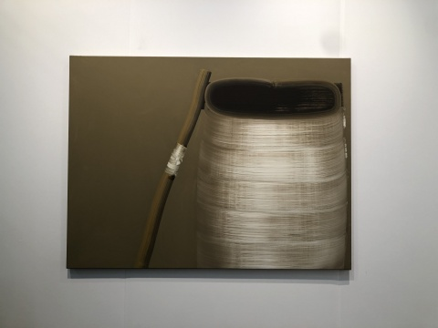 韩国现代画家宋贤淑(Hyun-Sook Song)《18个笔触》 比利时安特卫普的Zeno X画廊