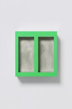 《Still Life》40×43×20cm 不锈钢、金属底漆、丙烯 2020