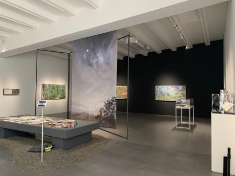 """李玉双同名个展在亚洲艺术中心 跨越六十年的自然风景""""光编码"""""""