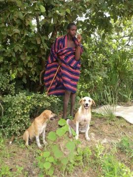 坦桑尼亚的马赛族人