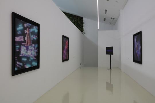 蜂巢当代艺术中心展览现场