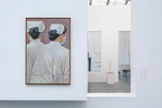 张慧 《犹在镜中2 》 120.5 × 80cm 布面油画 2018