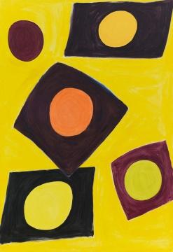 《吉拉索》224×154cm 布面丙烯 2002