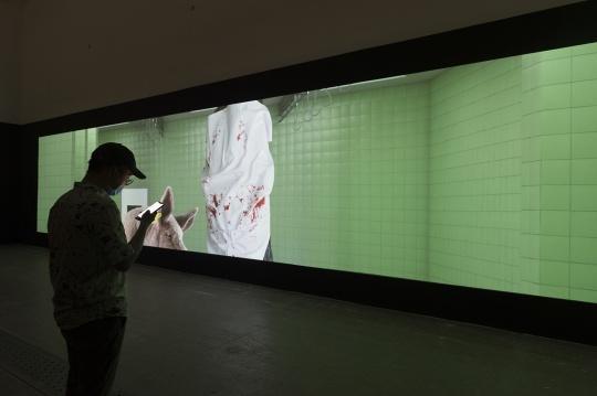 "AES+F个展""预言·寓言"",当代唐人艺术中心展览现场"