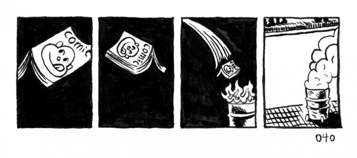 《乞丐漫画》第一部选页