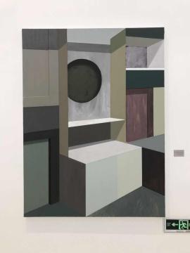 赵新宇 《组/合#1》 200×150cm 布面丙烯、油画 2017