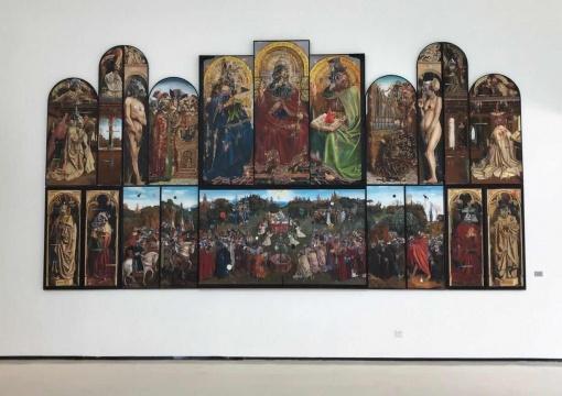 张钊瀛 《神秘的派对》 750×400cm 布面油画 2019