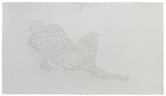 《43,875 孔》 65×115cm 手工宣纸 2020