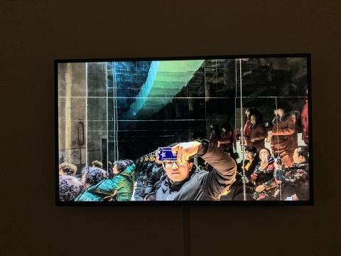 李豪 《内剧场——建筑的临终关怀》 单频录像 2020