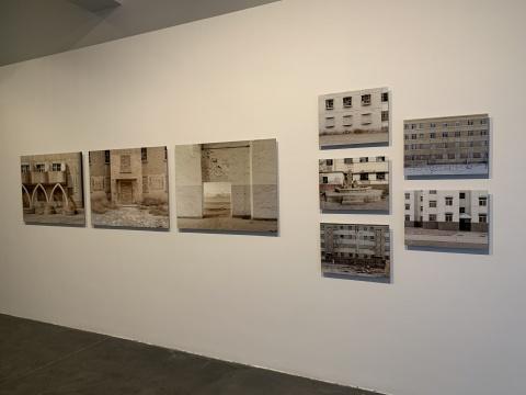 李扬 《404 NOT FOUND》 系列摄影(其中八张) 100x75cm、50×37.5 cm 2016