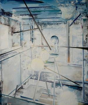 《至夜》 75×90cm 布面油画 2016