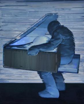 《安全箱》 210×170cm 布面油画 2016