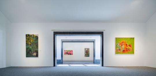 梁缨个展苏博开幕 在贝聿铭的建筑语言中张弛有度