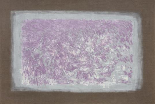 李钢《太阳》200×300cm 亚麻布上油画 2018