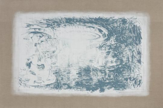 李钢《赌场》200×300cm 亚麻布上油画 2019