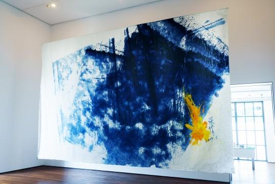 Spurs画廊  张伟《Z-KIW1955》400×600cm宣纸油画 2019