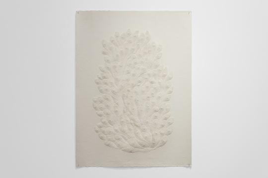 前波画廊  付小桐 《111,780孔》 109×80 cm 手工宣纸 2019
