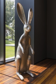 CLC画廊  汉克•维奇《夜色》H 124cm 铝、喷漆Ed. 4+1ap2007