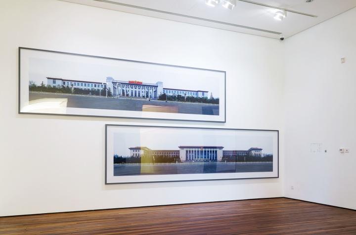 今格空间王国锋以人民大会堂、中国历史博物馆和中国革命博物馆为题材的摄影作品