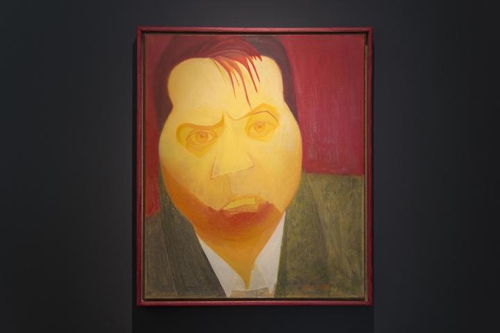 兰昭形《培根之一》 50×60cm 布面油画 2009 (摄影:董林)
