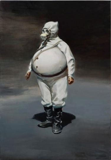 贾蔼力《无题》140×201cm 布面油画 2013 ©️贾蔼力工作室 图片来源:高古轩
