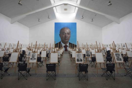 """""""王庆松:在希望的田野上"""",当代唐人艺术中心第一空间"""