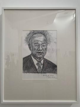 崔灿灿画的王庆松