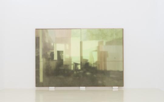 康海涛《界》 320 x 485 cm 纸本丙烯 2019