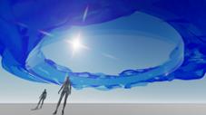 原·美术馆×万象城:七夕艺术装置——永恒之环