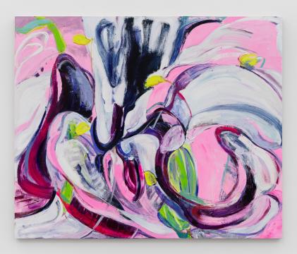 《百合 03》 190×230 cm布面油画 2020