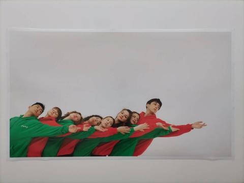 刘沁敏 《春之祭》 205×119cm 收藏级艺术微喷 2020