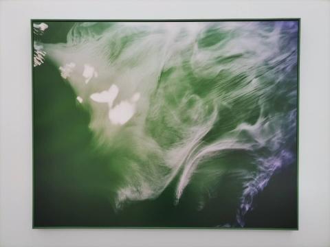 韩五洲 《亘古3》 150×120cm 艺术微喷 2017