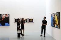 艾米李画廊双展开幕,夏日里的别样奇境幻景,刘勃麟,萧戈