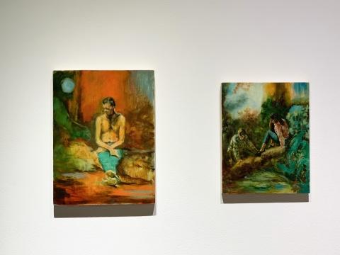 HdM画廊北京空间,克里斯托弗·奥尔绘画的古典与荒诞