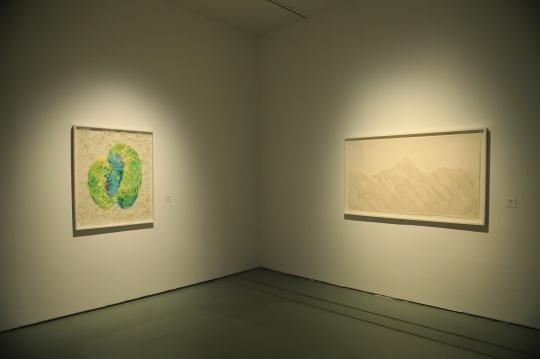 致敬传统——当代艺术纸作品巡展展览现场