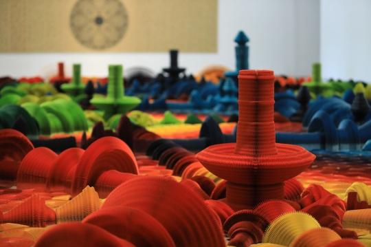 """今日美术馆新展围绕""""纸艺术""""展开,纸的这些玩法或许你还没见过"""