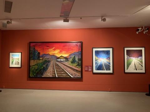 鲍勃·迪伦于不同年份创作的《铁道》
