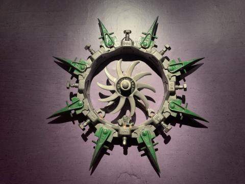 鲍勃·迪伦的铁艺雕塑